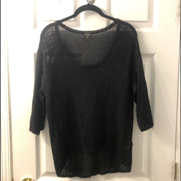 Babaton sheer shirt